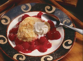 fruit cobbler - image by Betty Crocker