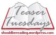 teaser tuesday by should be reading